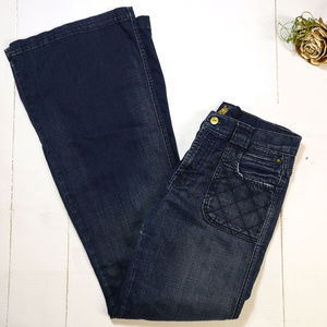 7 for all Mankind | wide leg flare jean | trouser